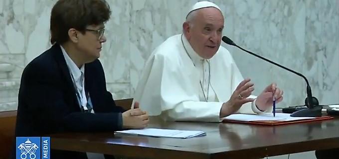 Papa Francisco: «el Señor no quiso un ministerio sacramental para las mujeres»