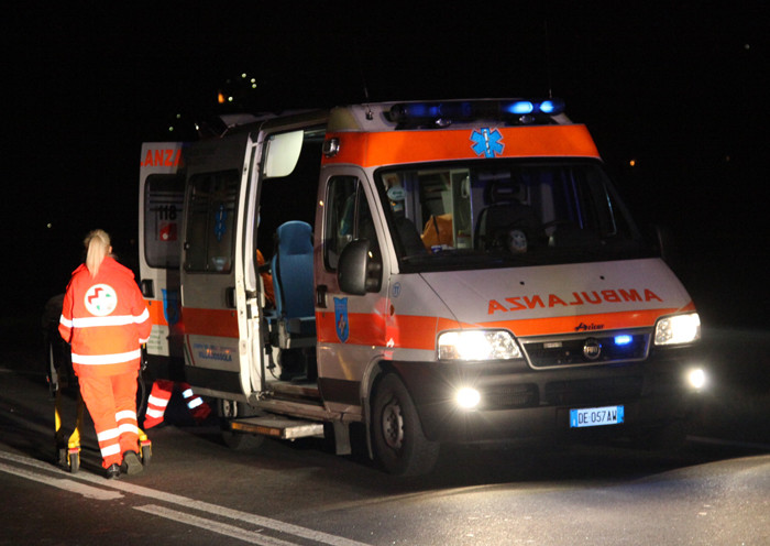 Ancora un incidente, 35enne in coma