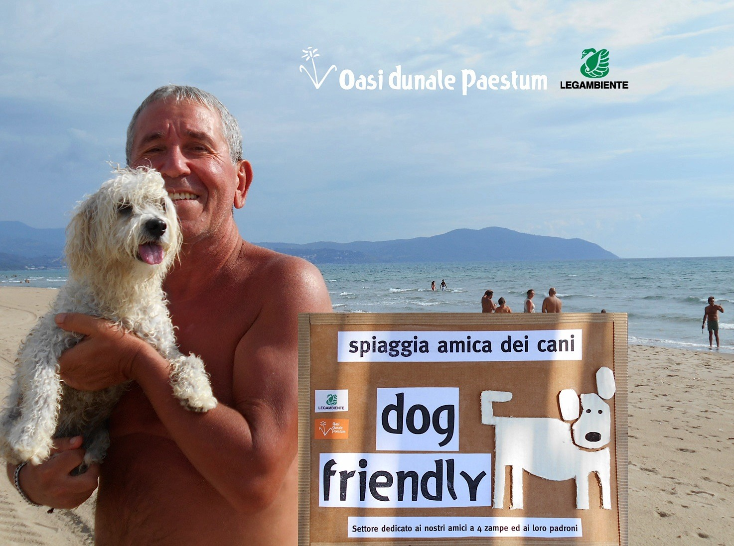L'Oasi Dunale di Paestum è dog friendly