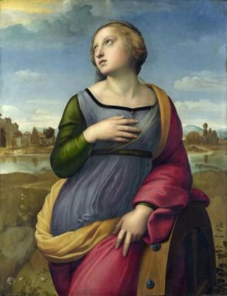 L'immagine di Santa Caterina
