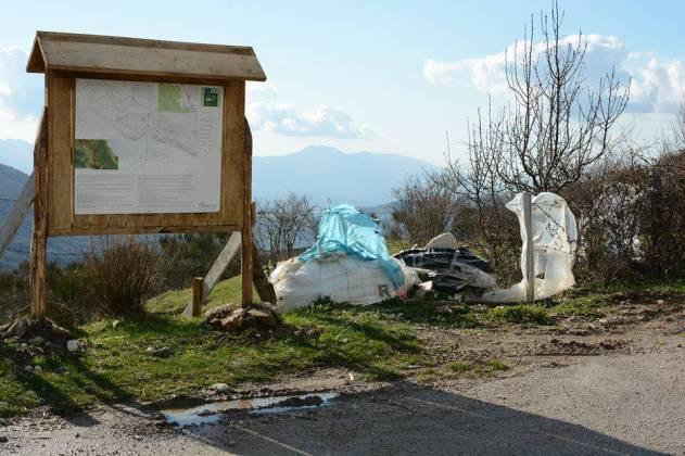 I rifiuti abbandonati - la situazione oggi