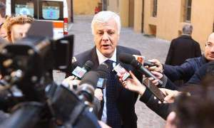 Il ministro dell'ambiente Gianluca Galletti  in una foto del  10 Marzo 2014. ANSA/GIORGIO BENVENUTI