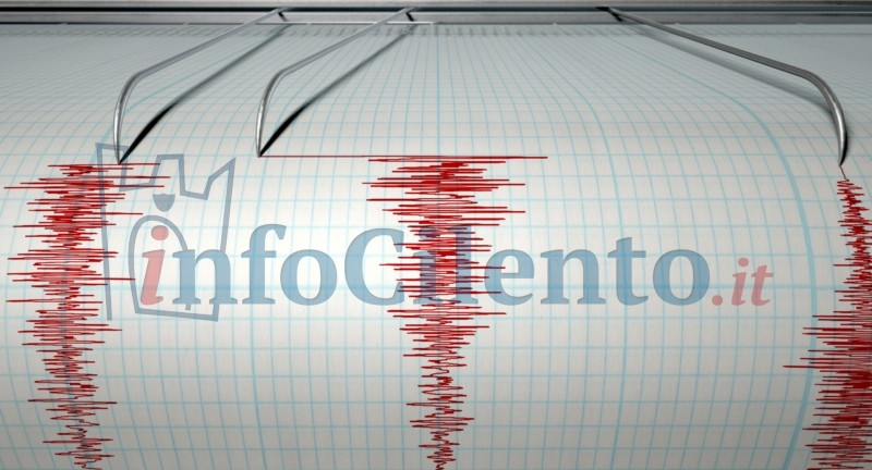 Photo of Terremoto a largo del Golfo di Policastro