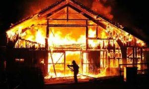Incendio chalet