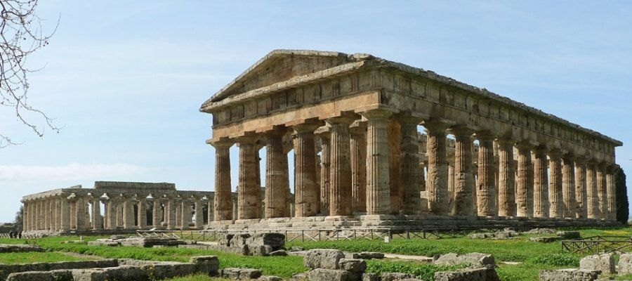 The temples in Paestum