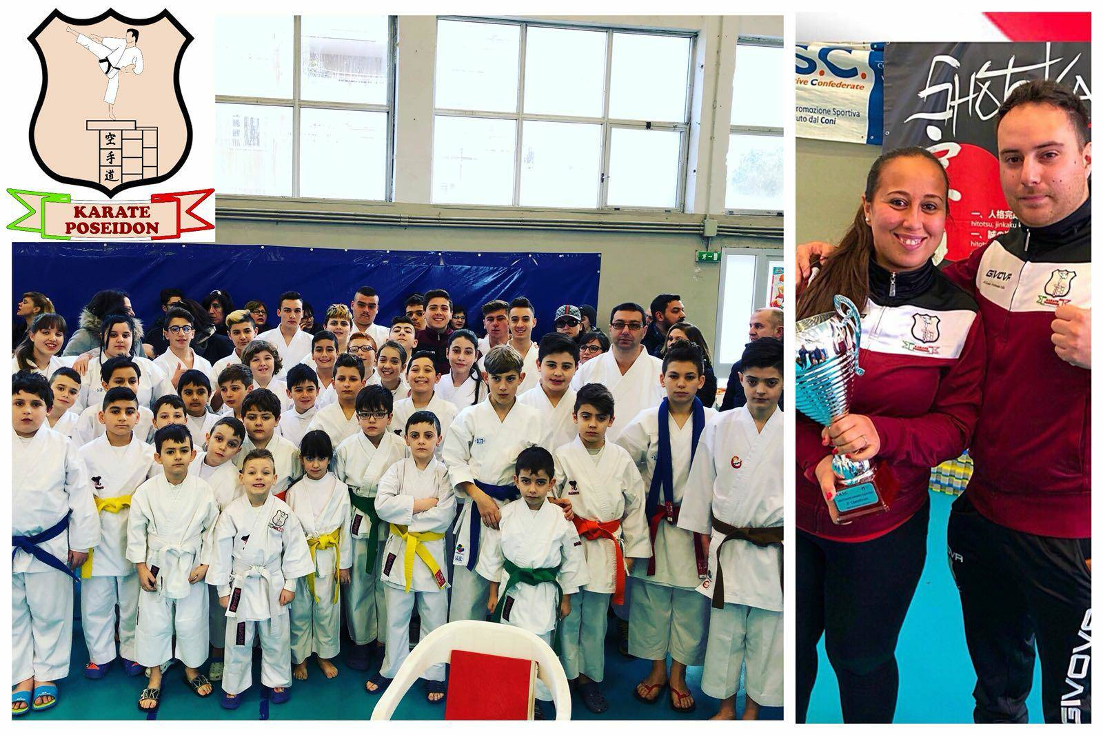 Photo of Karate Poseidon, secondo posto al trofeo interregionale a Pontecagnano