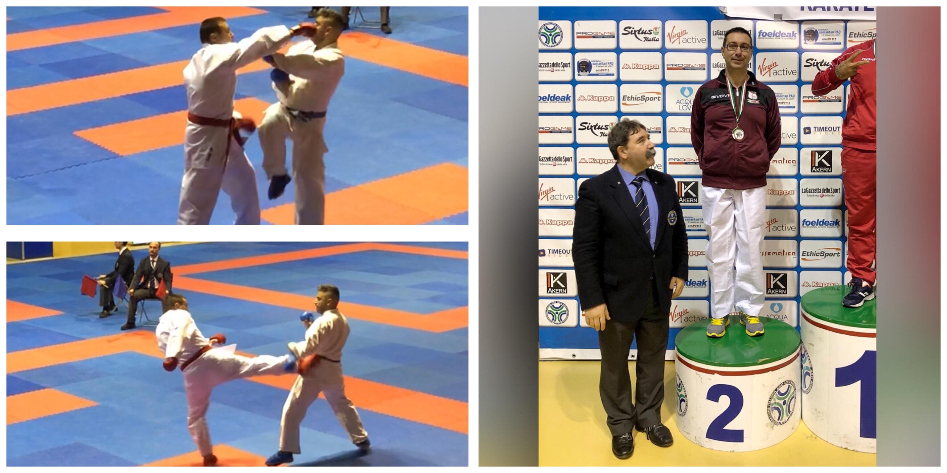 Karate coppa italia medaglia d 39 argento per la karate for Di tommaso arredamenti ostia