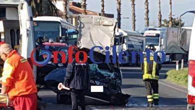 Photo of Grave incidente stradale a Ponte Barizzo, tra Capaccio ed Eboli