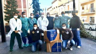 Photo of 200 tute con cappuccio per l'ospedale di Vallo