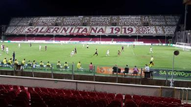 Photo of Salernitana-Reggiana: ospiti assenti allo stadio Arechi