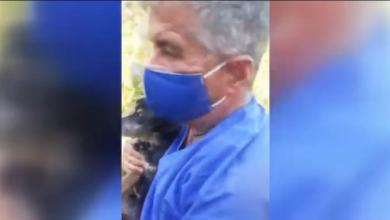Photo of VIDEO | Roccagloriosa: sindaco e pompieri salvano cagnolino in difficoltà