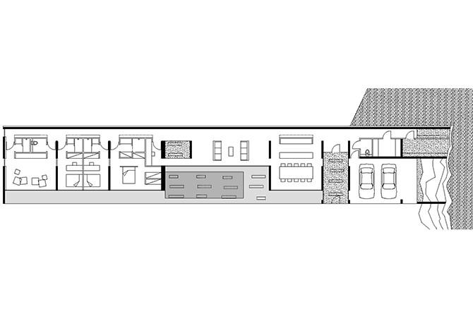 une maison tout en longueur infociments