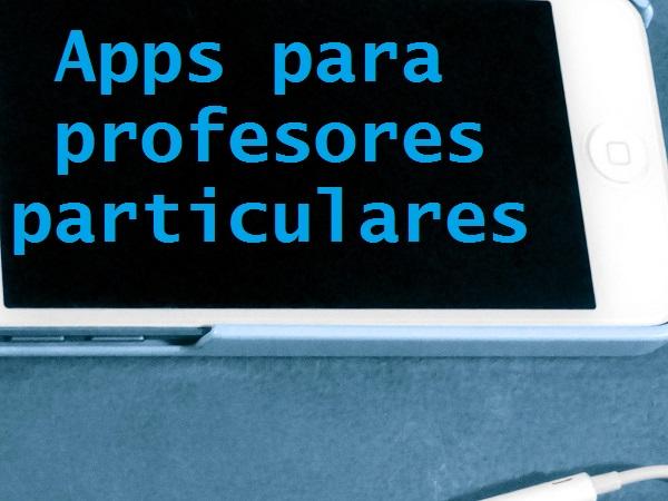 apps para profesores particulares