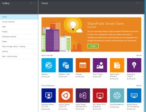 Gallery of Azure Options