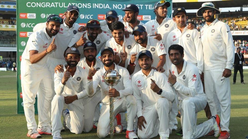 Test team India 2016