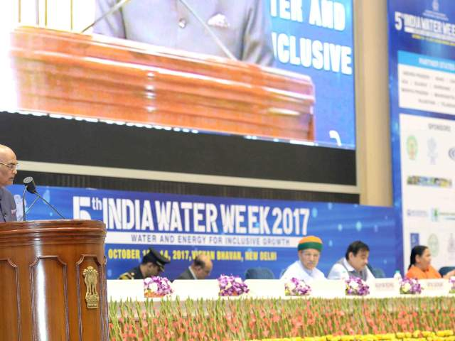 Modernization of India is dependent on the modernisation of its water management
