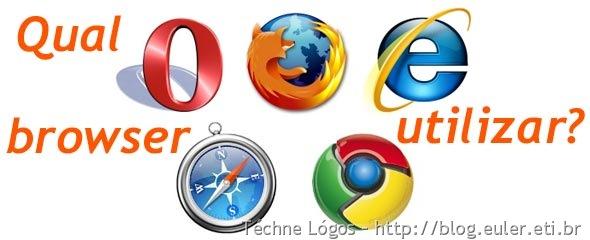 qual navegador utilizar?