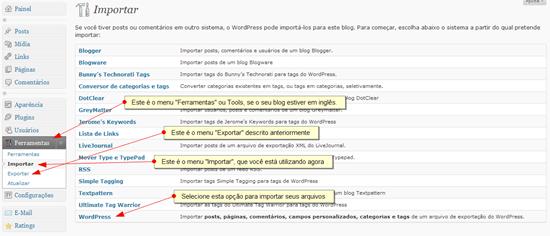 wordpress_importacao_de_arquivo