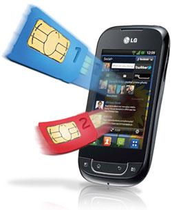 LG Optimus Net Dual - P698F
