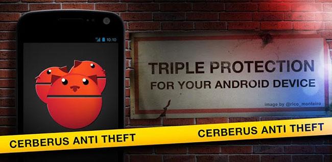 Proteja o seu smartphone com o Cerberus