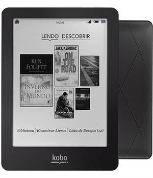Kobo Glo, um ótimo leitor para e-books