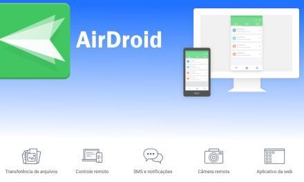 AirDroid – Acesso Remoto para o seu Smartphone