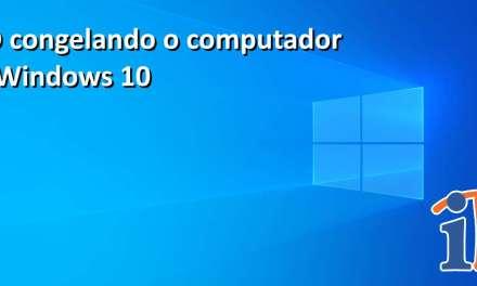 SSD congelando o computador no Windows 10