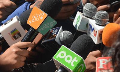 Periodistas en elecciones