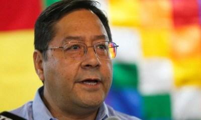 Luis Arce presidente de Boivia