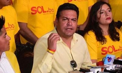 Sol.bo apoya a Carlos Mesa