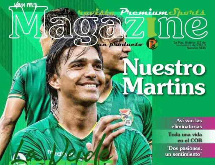 Marcelo Martins máximo goleador de la selección boliviana