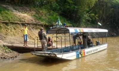 Contrabando fronterizo en aguas