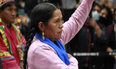 Nueva ministra de Culturas, Descolonización y Despatriarcalización