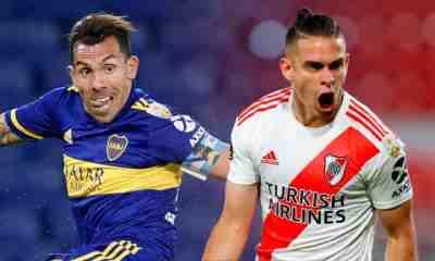 Boca vs River Plate goles