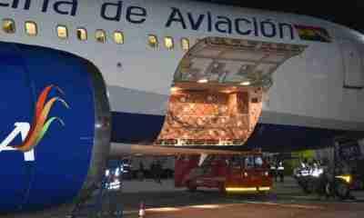 Nuevo lote de pruebas nasales llegan a Bolivia