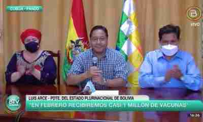 Presidente Luis Arce