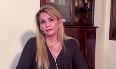 Expresidenta Áñez