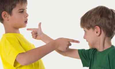 Violencia escolar de niños