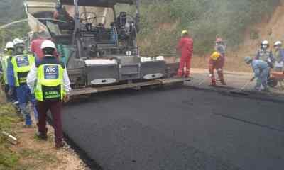 """carretera nueva """"Padilla - El Salto"""