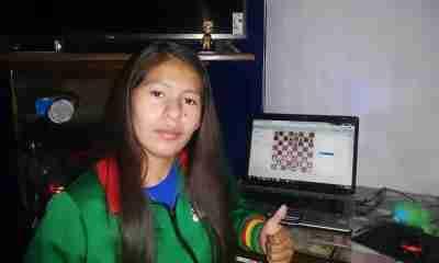 Ganadora de Ajedrez Bolivia