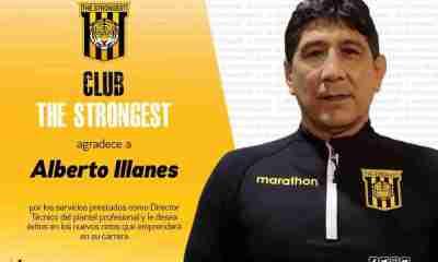 Alberto Illanes The Strongest