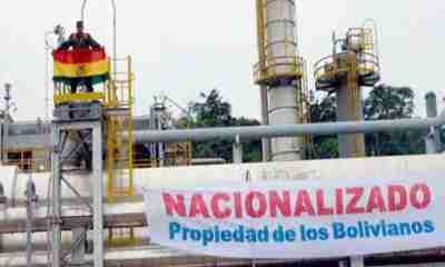 Nacionalización de YPFB Bolivia