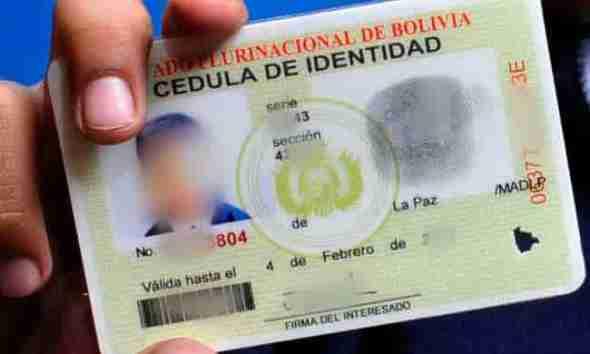 renovar cédula boliviana en Rosario