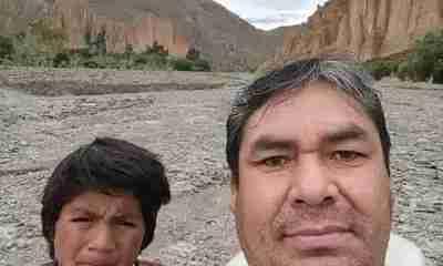 Clases virtuales en los cerros de Tupiza