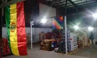 Mercado de frutas en Luján