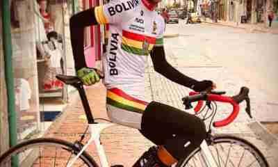Ciclista boliviano José Aramayo