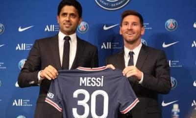 Messi presentación psg