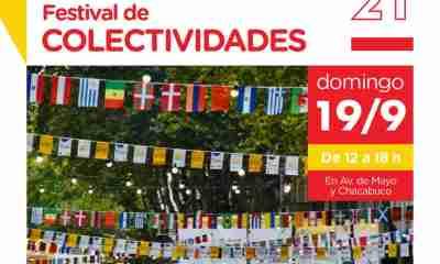 Festival de Colectividades caba