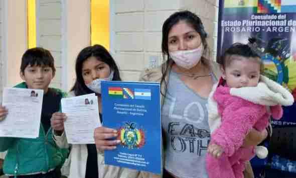 Colectividad Boliviana en Rosario
