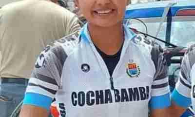 Ciclistas bolivianas